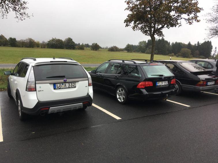 La première sortie Saab dans la Rhön