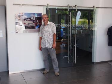 Visitando o Centro Saab em Kiel