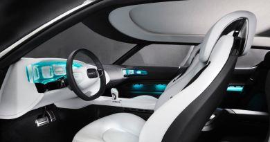 Cockpit design av 9-X Bio Hybrid-studien