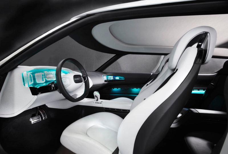Cockpit design of the 9-X Bio Hybrid study