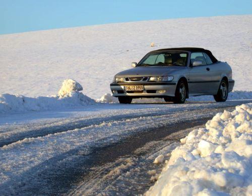 In Oberbayern, genauer in Murnau, ist das 9-3 Cabriolet von Andreas unterwegs.