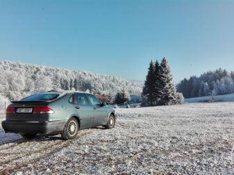 Bom dia de inverno na República Tcheca. Envio de Anton