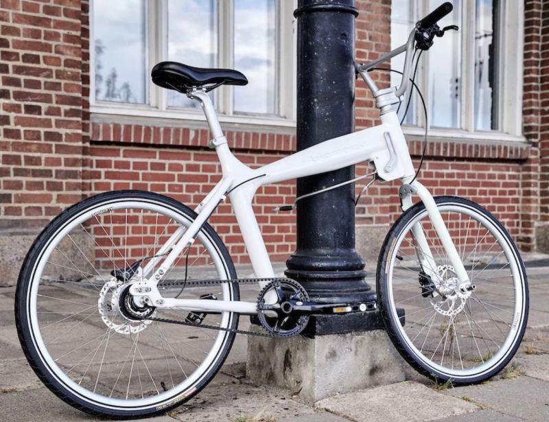 Biomega BOS - ex bicicleta Saab. Imagen: Biomega