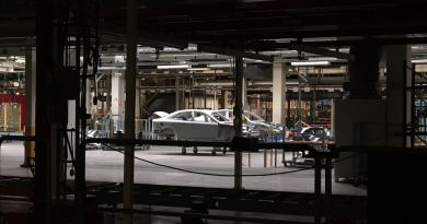 View of the former Saab plant. The Sion is to be built here.