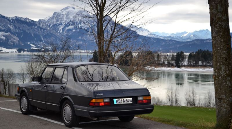 Almost 31 years old. The Saab 900 Turbo from Dietmar.