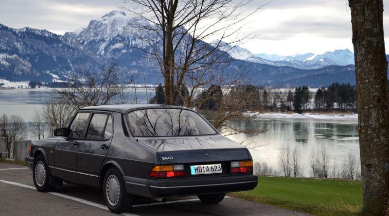 Почти 31 год Saab 900 Turbo от Dietmar.