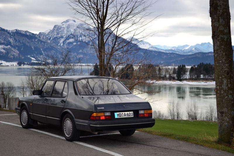 Casi 31 años de edad. El Saab 900 Turbo de Dietmar.