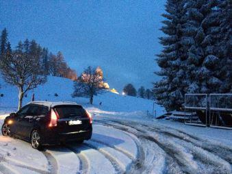Tração nas rodas Saab 9-3 - o que mais Daniel dirige no Dietikon