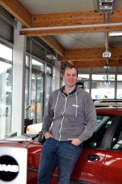 Markus Lafrentz - completamente rilassato e 100% Saab.