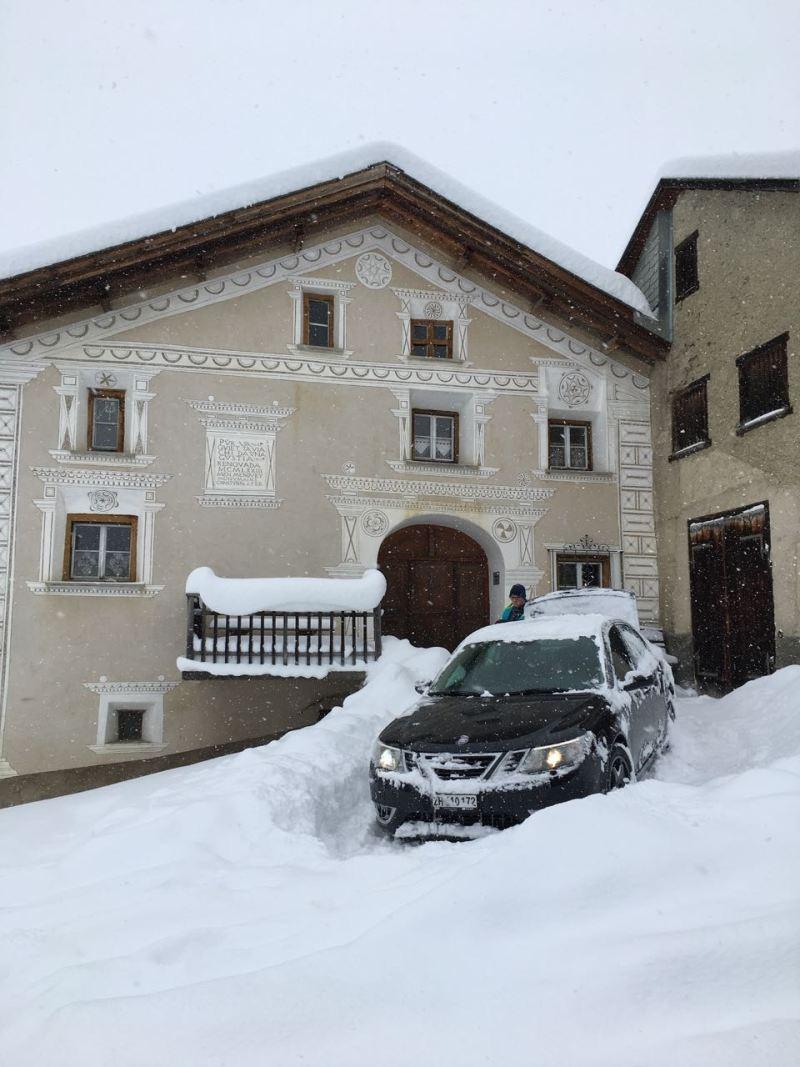 Esta foto de Matthias vem de Ftan em Graubünden