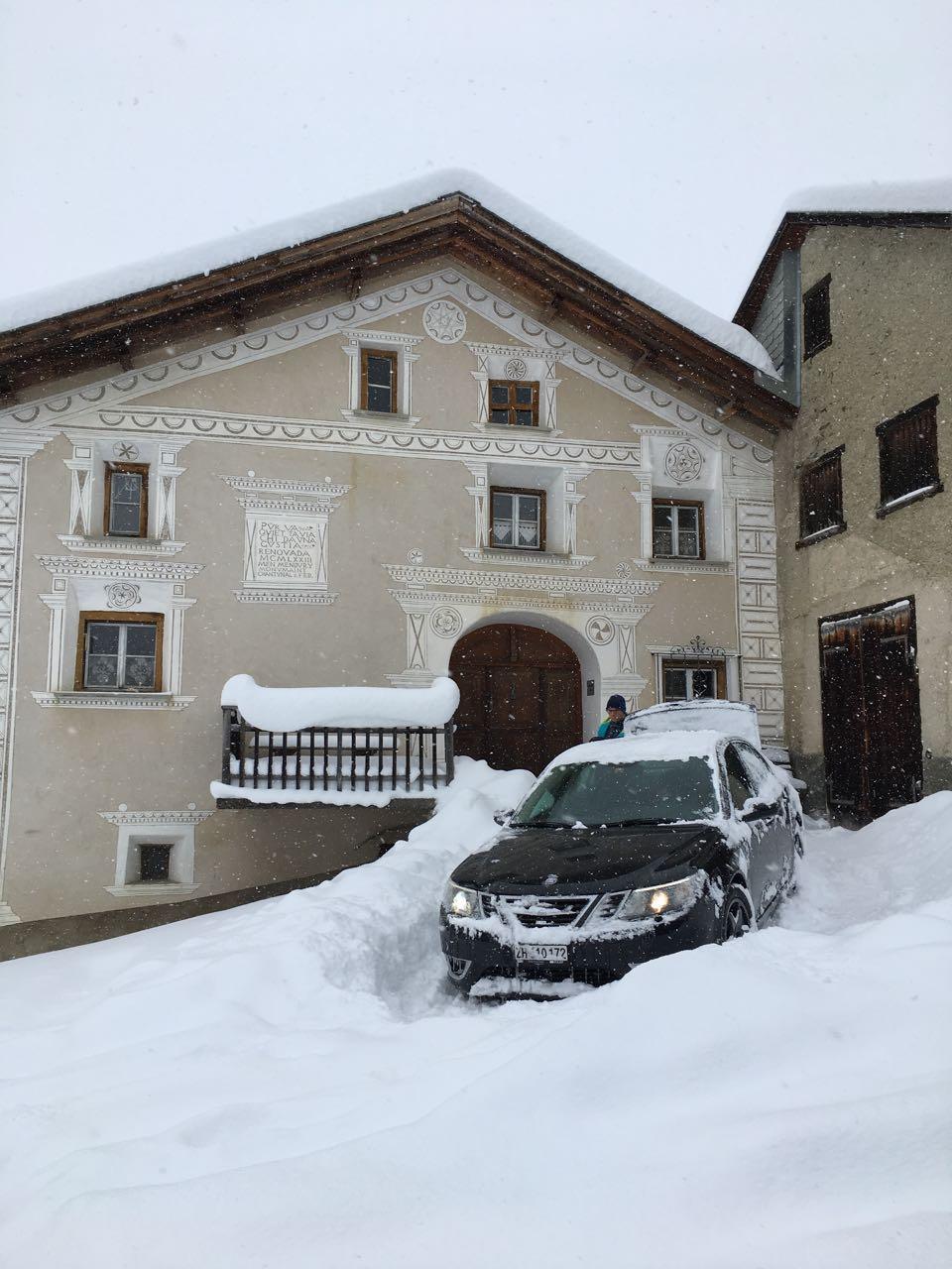 Aus Ftan in Graubünden kommt dieses Bild von Matthias