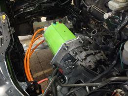 E-motor växeladapter motorfäste