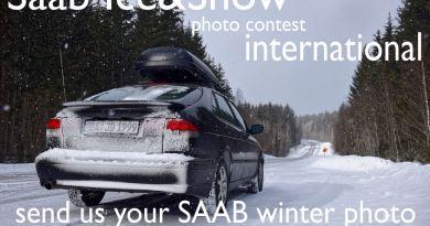 Saab Snow & Ice, de Saab-winterfoto.