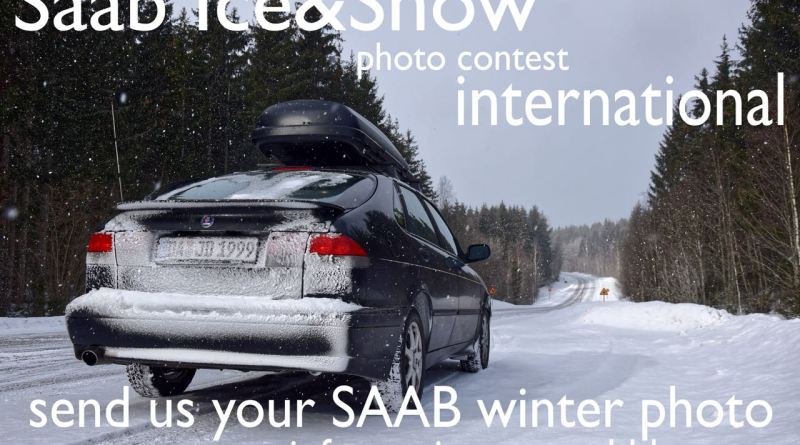 Saab Snow & Ice, the Saab winter photo.