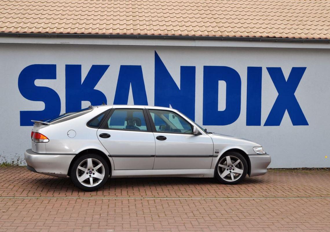 Mijn Saab op bezoek bij Skandix AG