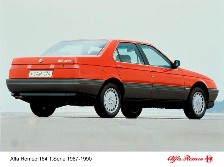 Alfa 164 eerste serie