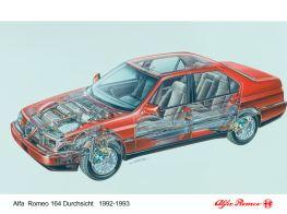 El maravilloso V6 habría encajado bien en el 9000 debido a la relación