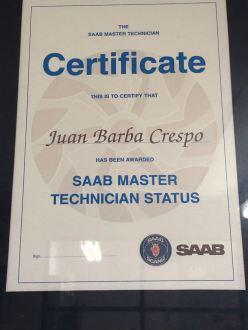 Saab Zertifikat