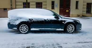 What winter does to the aero. 9-3 from Marco from Görlitz.