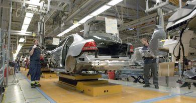 Saab production in Trollh�tan