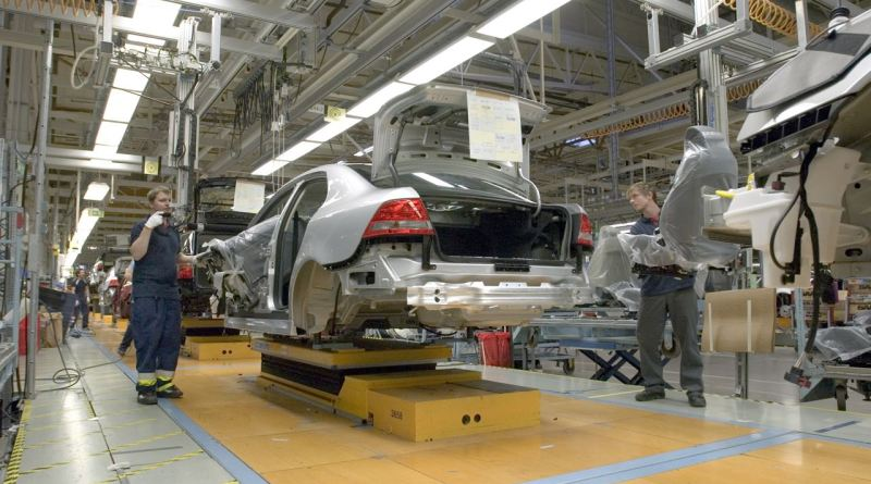 Saab production in Trollh�tan