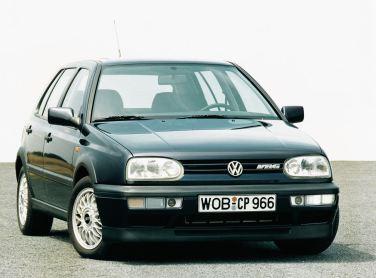 De VR6 in de Golf II, een zeer aangename motor. Wie zou hem in een Saab hebben verdacht?