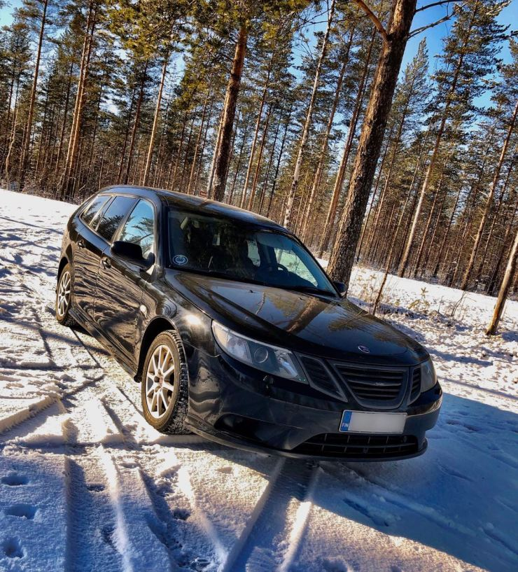Finlândia: The Saab 9-3 de Ari Petteri