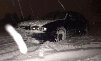 Winter in München, de Saab van Dejan