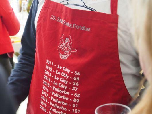 Schweizisk fondue nummer 10