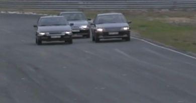 Zwei Franzosen und ein Schwede 1991 auf dem Anderstorp Ring