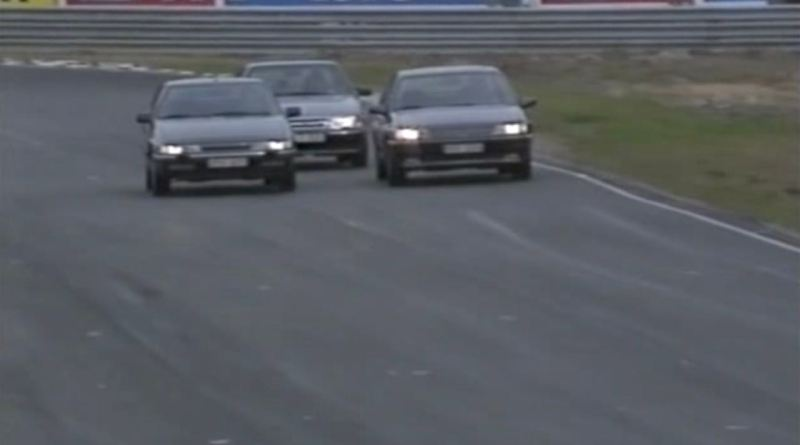 Two Frenchmen and a Swede in 1991 on the Anderstorp Ring