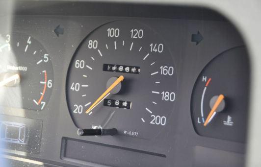 Meno di 120.000 chilometri sul tachimetro