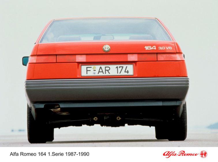 Alfa Romeo 164, 1. Serie