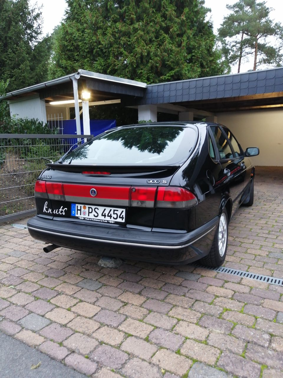 "Saab 900 II ""Knuts"" has more than half a million kilometers on the counter"
