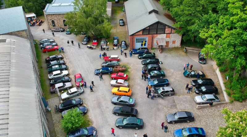 From above - Saab Saturday in Osnabrück