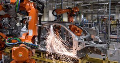 Producción de Volvo XC90 en Torslanda