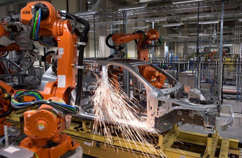 Volvo XC90 Produktion auf Torslanda