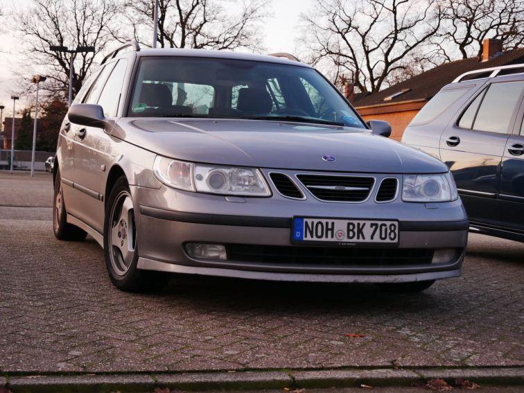 Saab 9-5 är den stora passionen