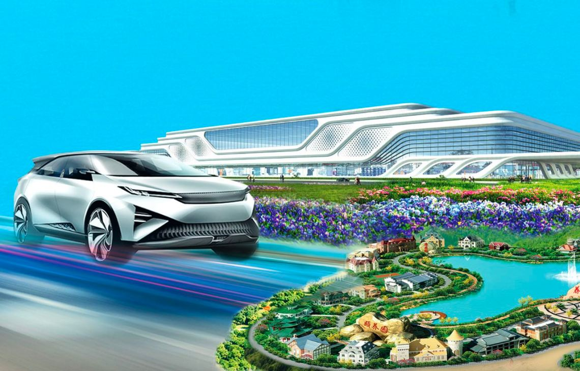 Evergrande builds factory for electric drives