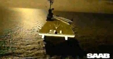 Saab 900 Turbo sulla portaerei