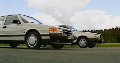 Sweden duel. Saab 9000 2.3i 16v against Volvo 740 GLT.