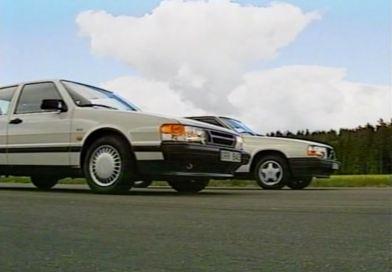 Volvo 740 GLT tegen Saab 9000. Het Zweedse duel.