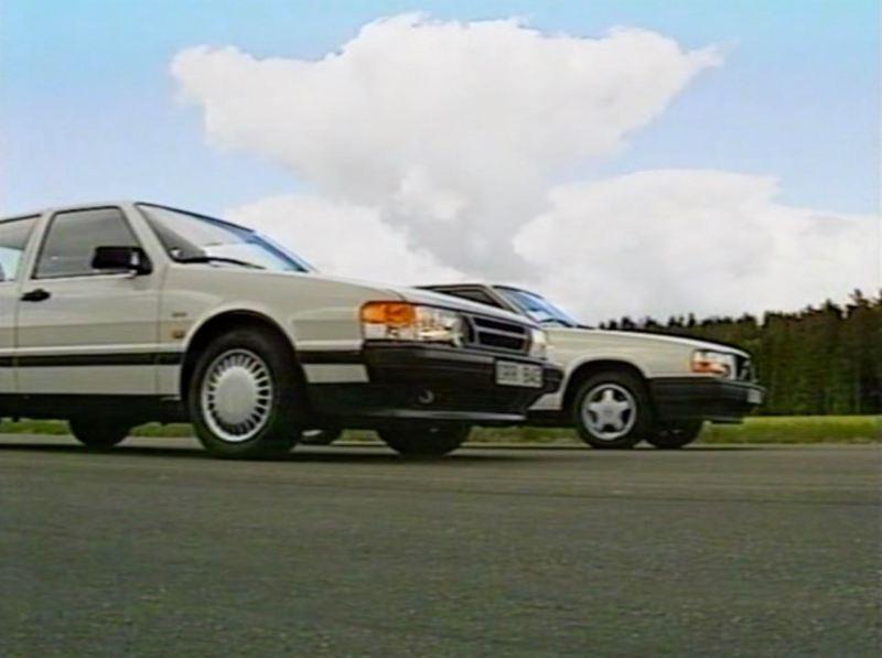 Schweden Duell. Saab 9000 2.3i 16v gegen Volvo 740 GLT.