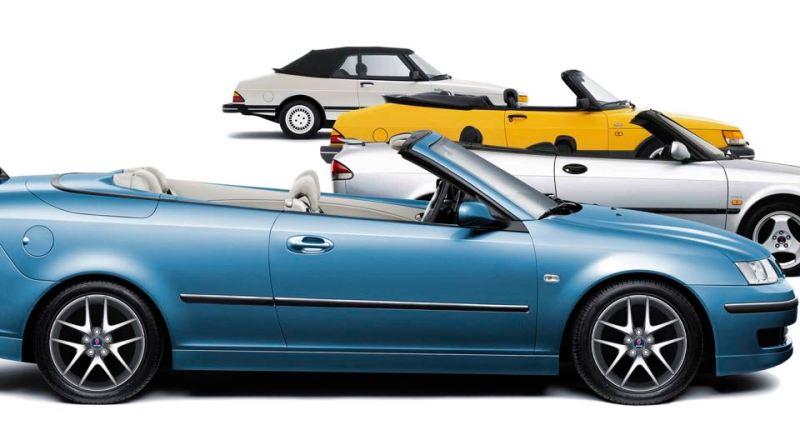 20 years Saab Cabriolet 2006