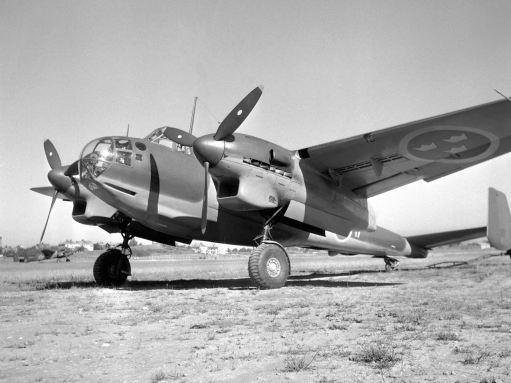 Det var först förrän 1944 som de första exemplarna tas i bruk