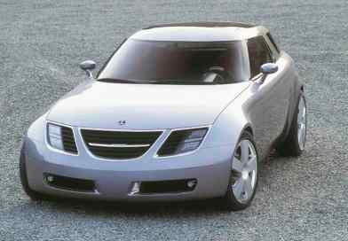 O Saab 9-X Concept 2001. Os quatro em um carro.