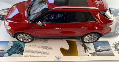 Um sonho exclusivo. Saab 9-4x Aero da DNA Collectibles.