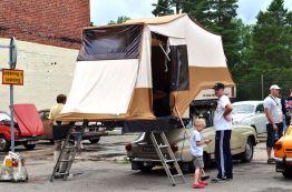 Saab 96 as a camper