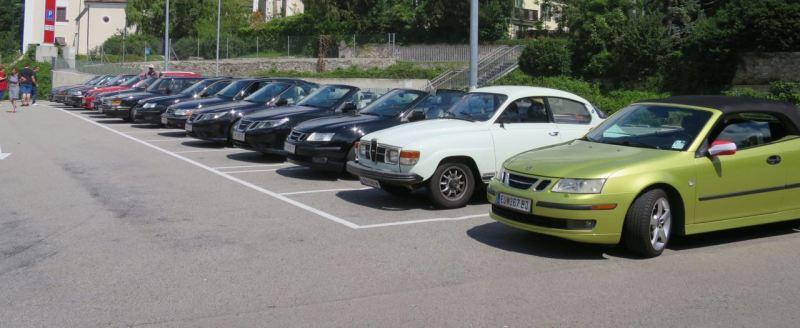 Paseo comunitario de Saab