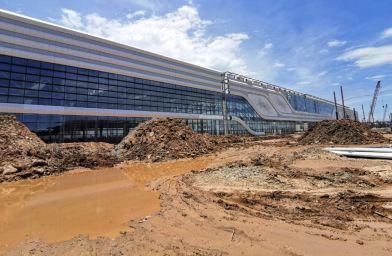 Fabriken förväntas vara färdig i slutet av året